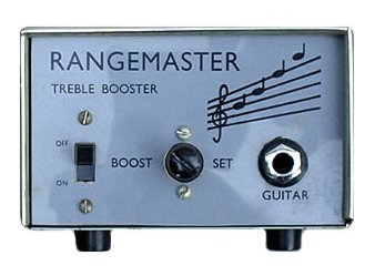 Brian May's Rangemaster treblebooster