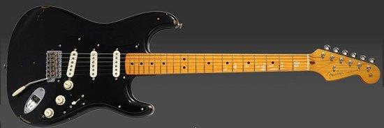 Davids famous black Stratocaster