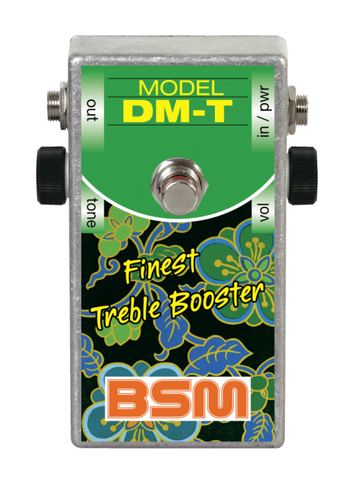Booster Image: DM-T Fat Treble Boost