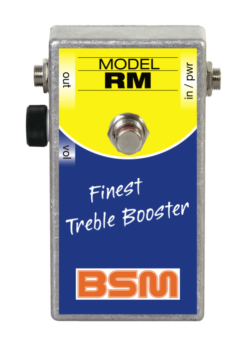 Booster Image: RM Treble-Booster
